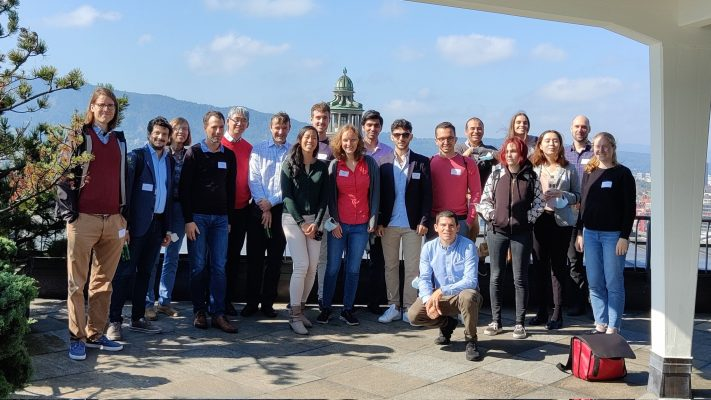 First in person consortium meeting at USZ